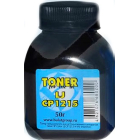 Тонер Булат для HP Color LJ CP 1215, чёрный, 50 гр.