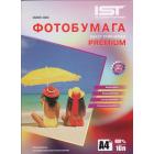 Фотобумага IST Premium холст глянцевая, A4, 400 гр. (10 л.)