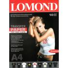 Transfer Paper for Bright Cloth ECONOM, A4, 140 гр., (10 л.)