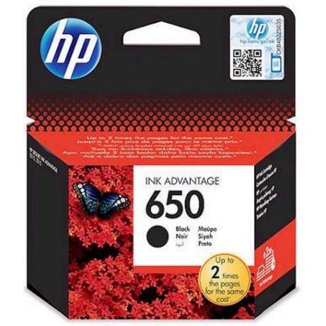 Картридж HP CZ101AE (№650) , black