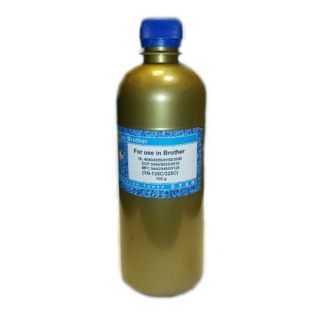 Тонер для Brother TN-135, TN-325 синий, Gold Atm, 100 гр.