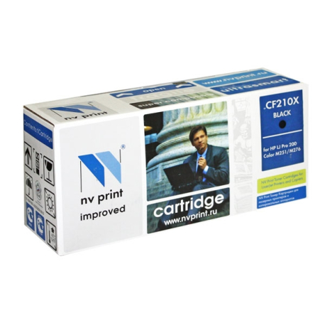 Картридж NV Print CF210X (131X) / Canon 731, black