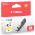 Картридж Canon CLI-451XL Y