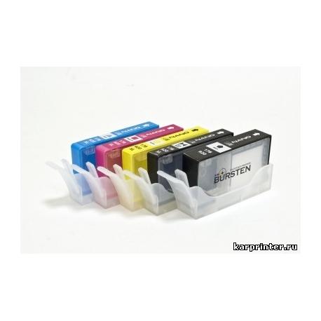 Нано-картриджи для HP178 / HP920 / HP655 x 5 шт.