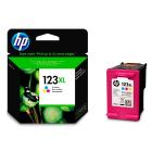 Картридж HP F6V18AE (HP123XL) , tri-colour
