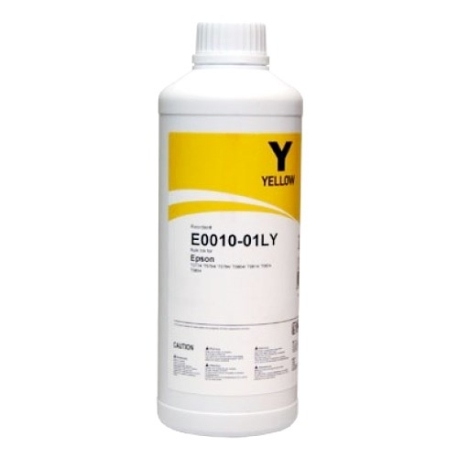 Жёлтые чернила InkTec E0010-01LY для Epson