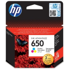 Картридж HP CZ102AE (HP650), color