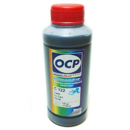 Чернила OCP для Canon (C 122) cyan, 100 гр.