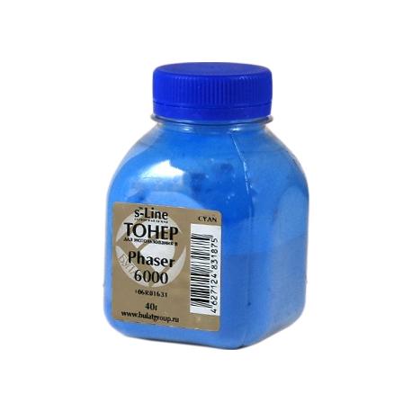 Тонер для Xerox Ph 6000, 6010, 6015, синий, Булат