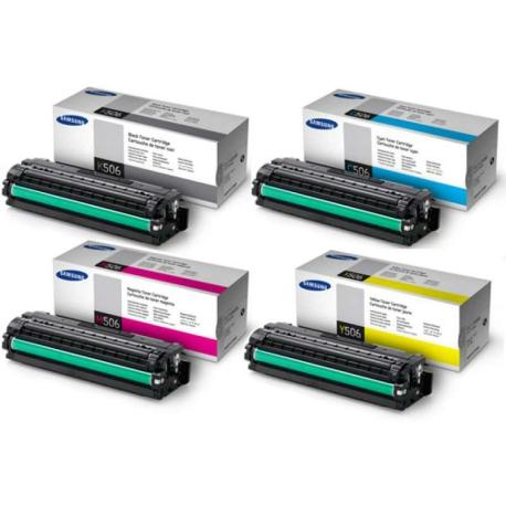 Картридж HP для Samsung CLT-Y406S для CLP-360/365/CLX-3300/3305. Жёлтый. 1000 страниц.