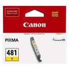Картридж Canon CLI-481Y, yellow