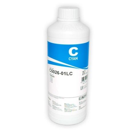 Чернила InkTec C5026-01LC для Canon, cyan, 1 литр