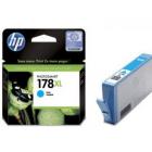 Картридж HP CB323HE HP178XL cyan