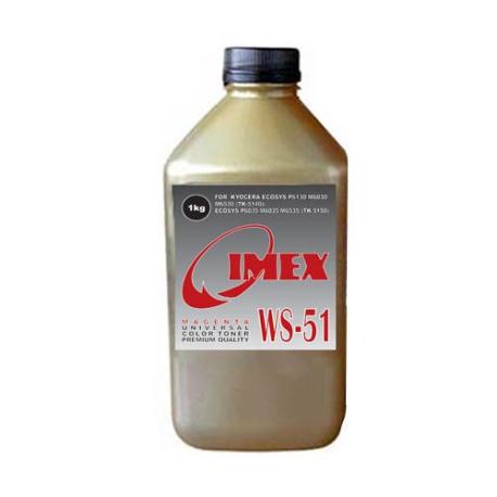 Тонер для KYOCERA FS Color WS-51-M, magenta, (1 кг., IMEX), Gold Atm