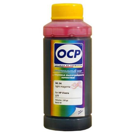 Чернила OCP ML 94 для HP 177, light magenta, 100 мл