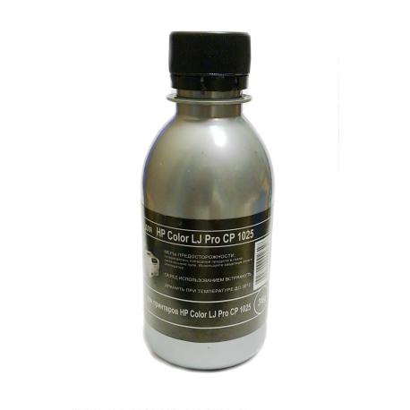 Тонер для HP Color LJ Pro CP1025, чёрный, Silver Atm