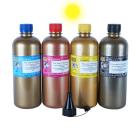 Тонер для KYOCERA ECOSYS M6030, M6530 (TK-5140, TK-5150), yellow, 120 гр., Gold Atm