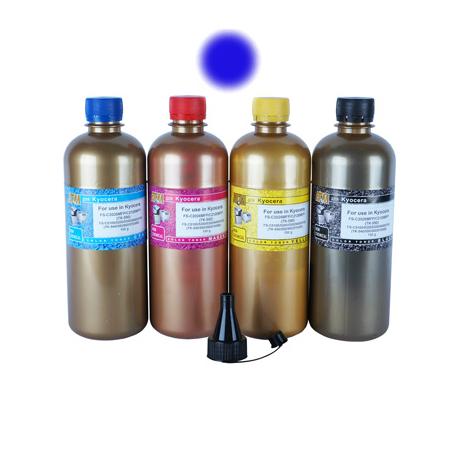 Тонер для KYOCERA ECOSYS M6030, M6530 (TK-5140, TK-5150), cyan, 120 гр., Gold Atm