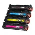 Заправка картриджа HP CE410A, CE411A, CE412A, CE413A, с заменой чипа
