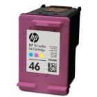 Заправка картриджа HP 46 (цветной)