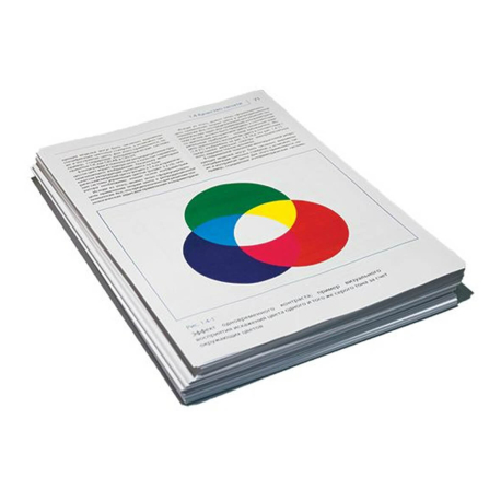 Цветная цифровая печать А4, только текст, бумага 80 гр., от 1 до 6 копий