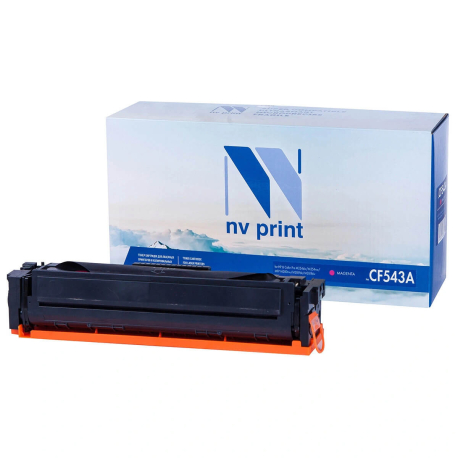 Картридж NV Print CF543A (203A), 1.3K, magenta