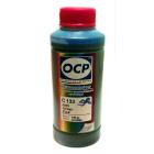 Чернила OCP для Canon (C 133) cyan, 100 гр.