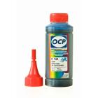Чернила OCP для Canon (C144-C154) cyan, 100 гр.