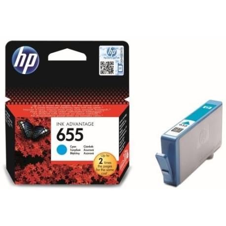Картридж HP CZ110AE (№655) , cyan
