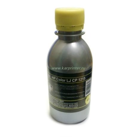 Тонер HP Color LJ CP 1215, 1518, CM1312, жёлтый, silver atm