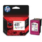 Картридж HP C2P11AE (HP651) , tri-colour
