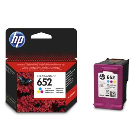 Картридж HP F6V24AE (HP652) , tri-colour