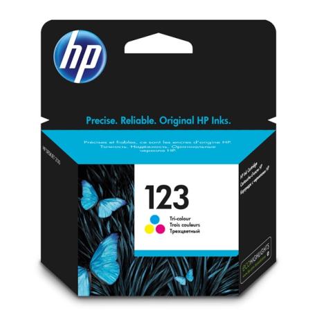 Картридж HP F6V16AE (HP123) , tri-colour
