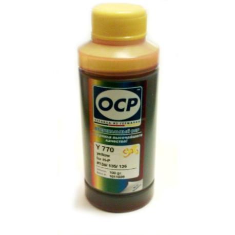 Чернила OCP для HP (Y 770), 100 гр.