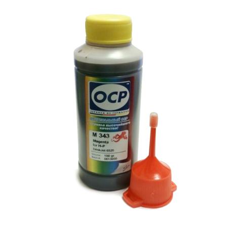 Чернила OCP для HP (M 343) magenta, 100 гр.