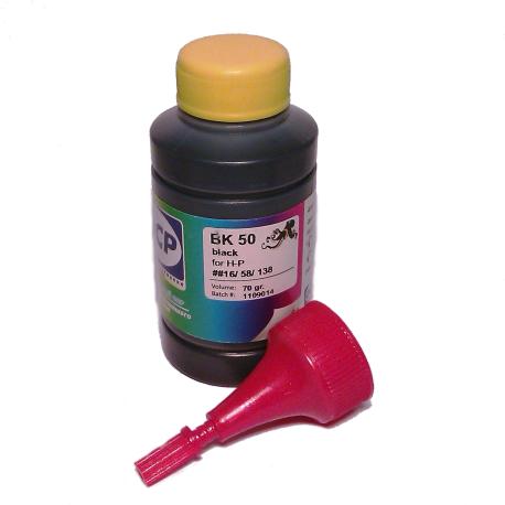 Чернила OCP для HP (BK 50) , 70 гр.